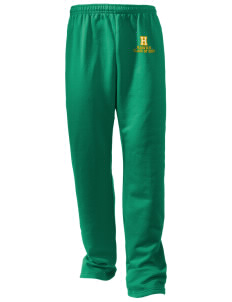 Hillview Elementary School Hawks Embroidered Holloway Men's 50/50 Sweatpants