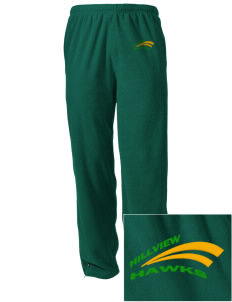 Hillview Elementary School Hawks Embroidered Holloway Men's Flash Warmup Pants
