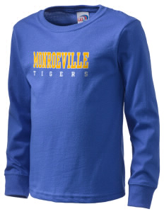 Monroeville Elementary School Tigers  Kid's Long Sleeve T-Shirt