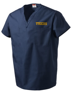 Monroeville Elementary School Tigers V-Neck Scrub Top