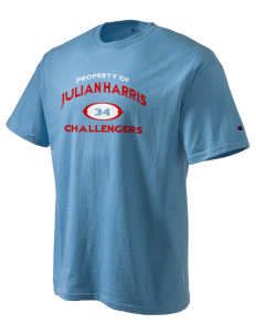 Julian Harris Elementary School Challengers Champion Men's Tagless T-Shirt