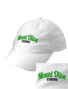 Mount Olive Elementary School Tigers Embroidered Vintage Adjustable Cap