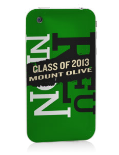 Mount Olive Elementary School Tigers Apple iPhone 3G/ 3GS Skin