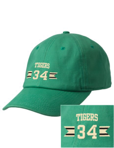 Mount Olive Elementary School Tigers Embroidered Champion 6-Panel Cap