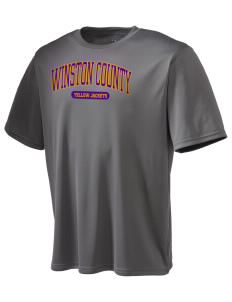 Winston County High School Yellow Jackets Champion Men's Wicking T-Shirt