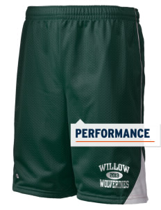 "Willow Elementary School Wolverines Holloway Men's Possession Performance Shorts, 9"" Inseam"