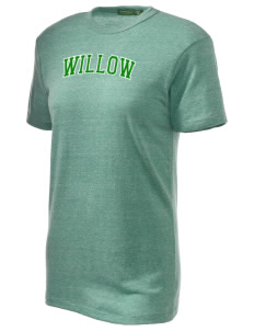 Willow Elementary School Wolverines Alternative Unisex Eco Heather T-Shirt