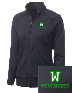Willow Elementary School Wolverines Women's NRG Fitness Jacket
