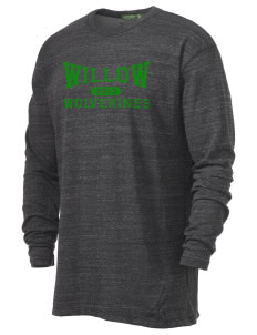 Willow Elementary School Wolverines Alternative Men's 4.4 oz. Long-Sleeve T-Shirt