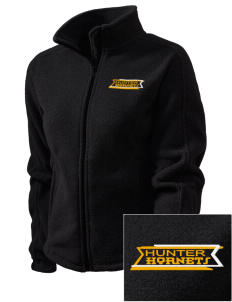 Hunter Elementary School Hornets Embroidered Women's Fleece Full-Zip Jacket