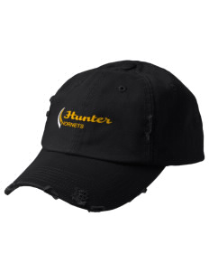 Hunter Elementary School Hornets Embroidered Distressed Cap