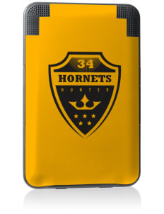 Hunter Elementary School Hornets Kindle Keyboard 3G Skin