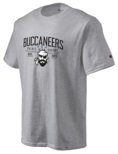 Valdez High School Buccaneers Champion Men's Tagless T-Shirt