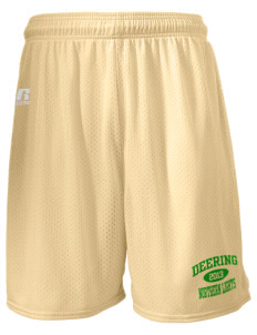 "Deering School Northern Lights  Russell Men's Mesh Shorts, 7"" Inseam"