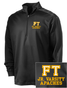 Fort Thomas Elementary School Apaches Embroidered Nike Men's Golf Dri-Fit 1/2 Zip