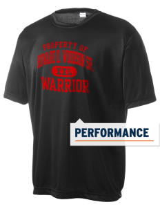 Howard D. Woodson Sr. High Warrior Men's Competitor Performance T-Shirt