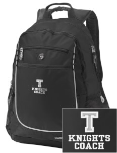 Tenino Middle School Knights Embroidered OGIO Carbon Backpack