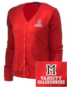 Montair Elementary School Roadrunners Embroidered Women's Stretch Cardigan Sweater