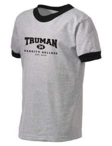 Truman high school Bulldog Kid's Ringer T-Shirt
