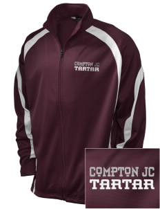compton jc tartar Embroidered Holloway Men's Tricotex Warm Up Jacket