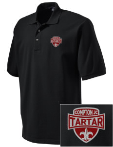 compton jc tartar Embroidered Tall Men's Pique Polo