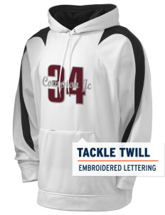 compton jc tartar Holloway Men's Sports Fleece Hooded Sweatshirt with Tackle Twill