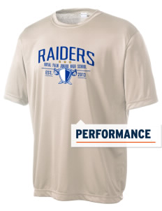 Royal Palm Junior High School Raiders Men's Competitor Performance T-Shirt