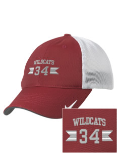 Wilson Primary School Wildcats Embroidered Nike Golf Mesh Back Cap