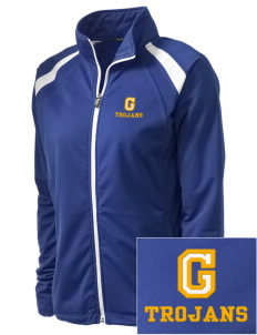 Gidley Elementary School Trojans Embroidered Women's Tricot Track Jacket