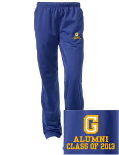 Gidley Elementary School Trojans Embroidered Women's Tricot Track Pants