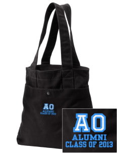Alpha Omega Academy We don't have one.  We have a logo Embroidered Alternative The Berkeley Tote
