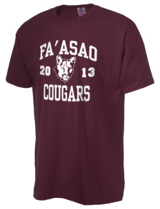 fa'asao high cougars  Russell Men's NuBlend T-Shirt