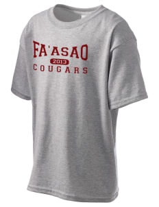 fa'asao high cougars Kid's 6.1 oz Ultra Cotton T-Shirt