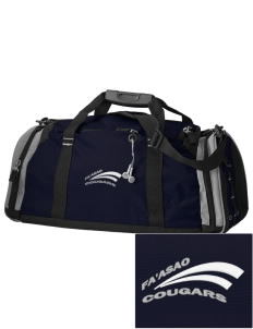fa'asao high cougars Embroidered OGIO All Terrain Duffel