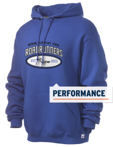 Norwood Elementary School Roadrunners Russell Men's Dri-Power Hooded Sweatshirt