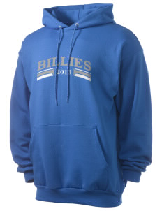 Monticello High School Billies Men's 7.8 oz Lightweight Hooded Sweatshirt