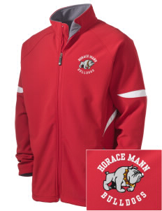 Horace Mann Elementary School Bulldogs Holloway Embroidered Men's Radius Zip Front Jacket