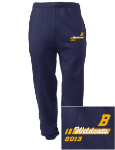 Bixby Elementary School Wildcats Embroidered Men's Sweatpants with Pockets