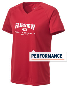 Fairview Middle School Cardinals Holloway Women's Zoom Performance T-Shirt
