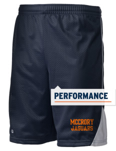 "McCrory High School Jaguars Holloway Men's Possession Performance Shorts, 9"" Inseam"