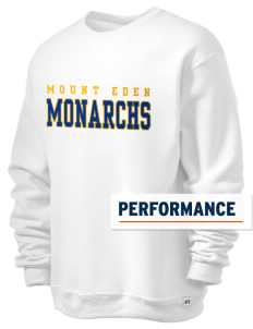 Mount Eden High School Monarchs  Russell Men's Dri-Power Crewneck Sweatshirt