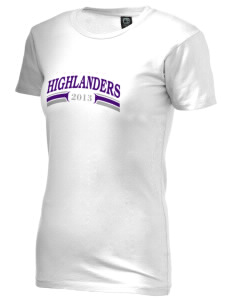 Beach Elementary School Highlanders Alternative Women's Basic Crew T-Shirt