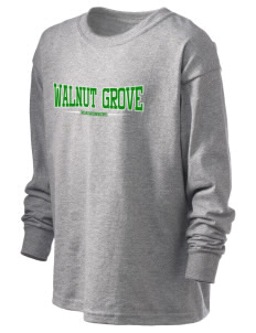 Walnut Grove Elementary School Roadrunners Kid's 6.1 oz Long Sleeve Ultra Cotton T-Shirt