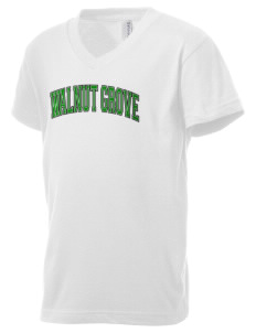 Walnut Grove Elementary School Roadrunners Kid's V-Neck Jersey T-Shirt