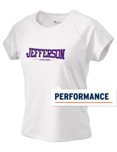 Jefferson Elementary School Jaguars Champion Women's Wicking T-Shirt