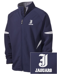 Jefferson Elementary School Jaguars Holloway Embroidered Men's Radius Zip Front Jacket