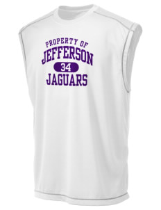 Jefferson Elementary School Jaguars Champion Men's 4.1 oz Double Dry Odor Resistance Muscle T-Shirt