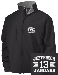 Jefferson Elementary School Jaguars Embroidered Men's Soft Shell Jacket