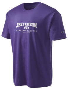 Jefferson Elementary School Jaguars Champion Men's Tagless T-Shirt