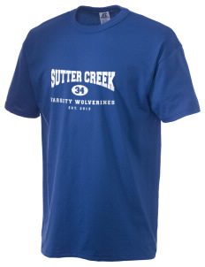 Sutter Creek Elementary School Wolverines  Russell Men's NuBlend T-Shirt